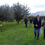 IL PRESIDENTE DELL'ANM DI PALERMO RENDE OMAGGIO ALLE VITTIME DELLA MAFIA AL GIARDINO DELLA MEMORIA